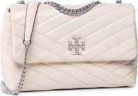 Kabelka Tory Burch Kira Chevron Distressed Small Convertible Shoulder Bag 75447 Béžová