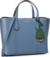Kabelka Tory Burch Perry Small Triple-Compartment Tote 56249 Modrá
