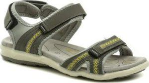Scandi Sandály 251-2002-C1 šedé dámské sandály