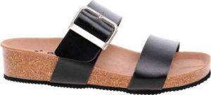 Forcare Dřeváky Dámské pantofle 301001 černá Černá