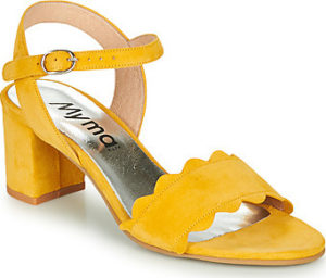 Myma Sandály LAMMINE Žlutá