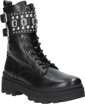 Janet Janet Kotníkové boty 44856 Černá