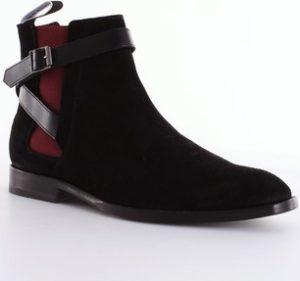 Paul Smith Kotníkové boty M2SHAR02AVES Černá