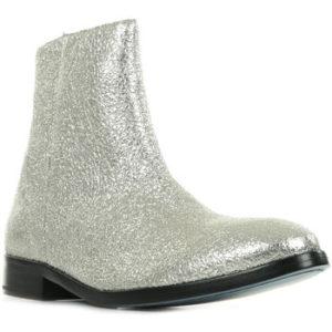 Paul Smith Kotníkové boty Brooklyn Stříbrná