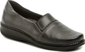 Axel Mokasíny AXCW122 šedá dámská zdravotní obuv šíře H
