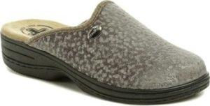 Medi Line Papuče 514 šedé dámské zdravotní pantofle