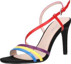 ABOUT YOU Páskové sandály 'Valerie' mix barev