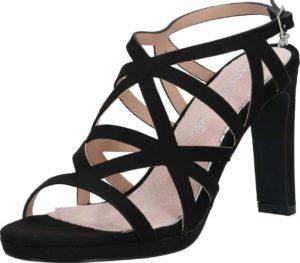 MARIAMARE Páskové sandály 'ARAIDA' černá