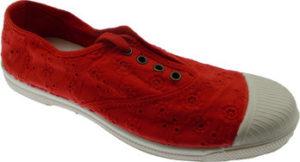 Natural World Street boty NW120rosso Červená