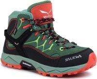 Trekingová obuv Salewa Jr Alp Trainer Mid Gtx GORE-TEX 64006-5960 Zelená