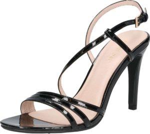 ABOUT YOU Páskové sandály 'Valerie' černá