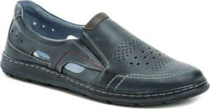 Mateos Vycházková obuv 676b modré pánské mokasíny Other