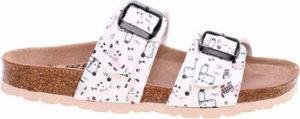 Forcare Dřeváky Dámské pantofle 203015 bílá-multi Bílá