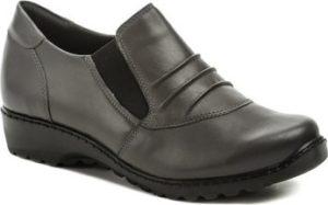 Axel Šněrovací polobotky AXCW111 šedé dámské polobotky boty