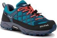 Trekingová obuv Salewa Jr Wildfire Wp 64009-8641 Modrá