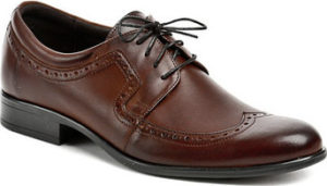Tapi Šněrovací polobotky 1677 hnědá pánská společenská obuv Hnědá