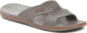 Magnus Pantofle 68-0058-S6 šedé pánské plážovky