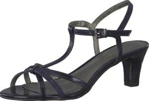 TAMARIS Páskové sandály námořnická modř