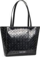 Kabelka Calvin Klein Ck Must Em Shopper Sm K60K606761 Černá