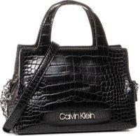 Kabelka Calvin Klein Neat Croc Tote Mini K60K606766 Černá