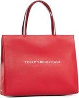 Kabelka TOMMY HILFIGER Tommy Shopping Bag AW0AW08731 Červená