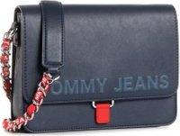 Kabelka Tommy Jeans Tjw Item Flap Crossover N AW0AW08749 Tmavomodrá