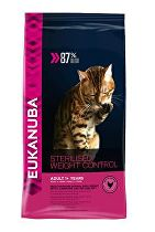 Eukanuba Cat Adult Sterilised/Weight Control kuře 400g