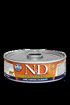 N&D GF CAT PUMPKIN Adult Lamb & Blueberry 80g 1+1 zdarma ( do vyprodání)