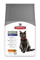 Hill's Fel. Dry Mat Adult7+Sterilised Cat Chicken 300g