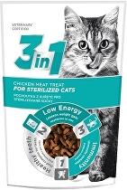 the Pet+ 3in1 cat STERILISED 1kg