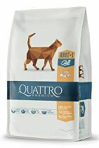 QUATTRO Cat Dry Premium all Breed Adult Drůbež 1
