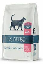 QUATTRO Cat Dry Premium all Breed Steril. Drůbež 1