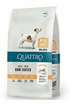 QUATTRO Dog Dry Premium Mini Adult Drůbež 1