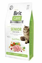 Brit Care Cat GF Senior Weight Control 7kg + dóza ZDARMA