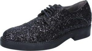 Janet Janet Vycházková obuv classiche nero glitter BY753 Černá