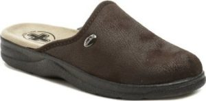 Medi Line Pantofle 617 hnědé pánské zdravotní pantofle Hnědá